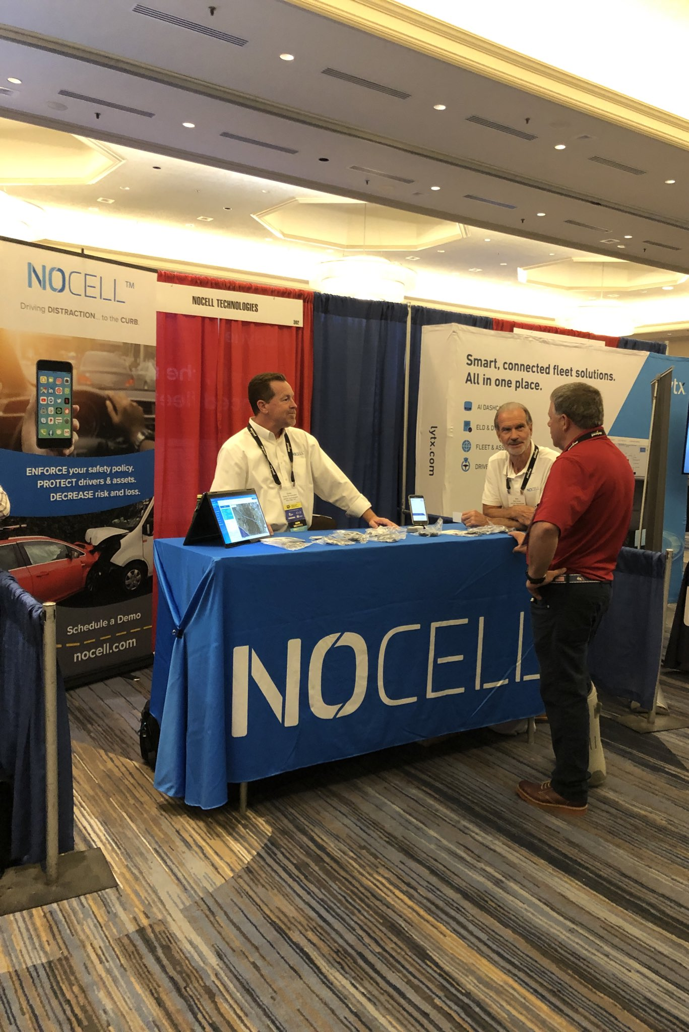NoCell Exhibits at TCA Safety and Compliance Conference
