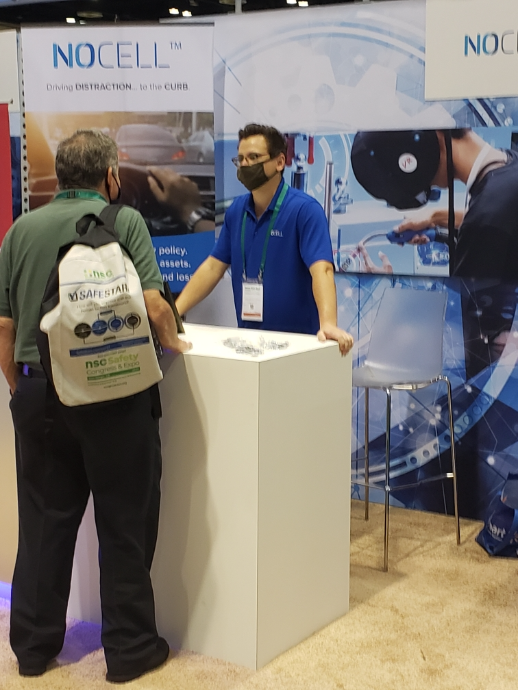 NoCell exhibiting at the National Safety Council's Congress & Expo